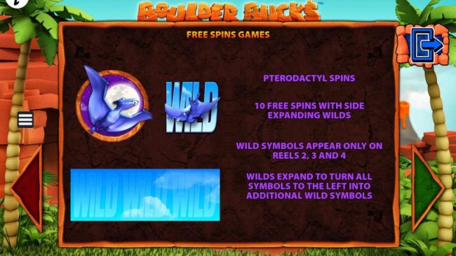 Vegas Spins featuring the Video Slots Boulder Bucks with a maximum payout of $250,000