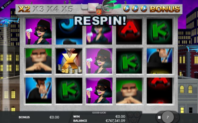 Mr Green featuring the Video Slots Bounty Hunter with a maximum payout of $5,000