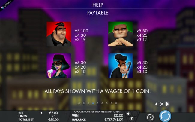 EypoBet featuring the Video Slots Bounty Hunter with a maximum payout of $5,000