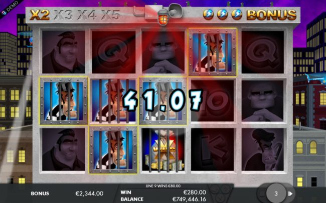 Norskespill featuring the Video Slots Bounty Hunter with a maximum payout of $5,000