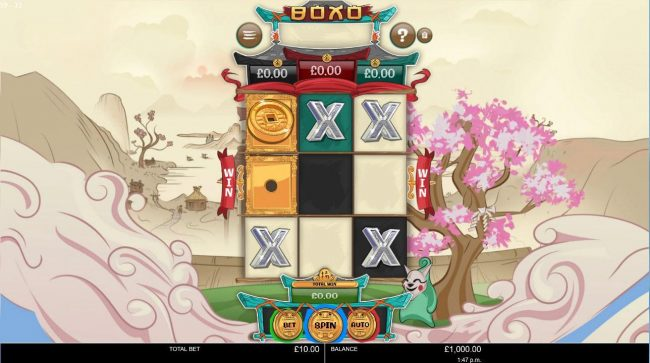 Fruity Casa featuring the Video Slots Boxo with a maximum payout of $2,500