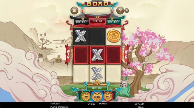 Vera&John featuring the Video Slots Boxo with a maximum payout of $2,500