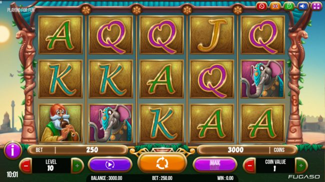 Jellybean Casino featuring the Video Slots Brave Mongoose with a maximum payout of $125,000