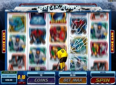Maple featuring the Video Slots Break Away with a maximum payout of $1,000,000