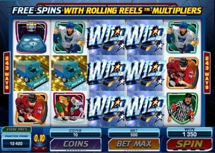 18 Bet featuring the Video Slots Break Away with a maximum payout of $1,000,000