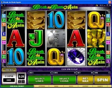 Jetbull featuring the Video Slots Break da Bank Again with a maximum payout of $250,000