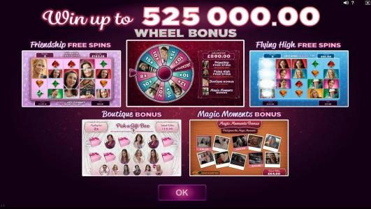 Play slots at Vegas Winner: Vegas Winner featuring the Video Slots Bridesmaids with a maximum payout of $105,000