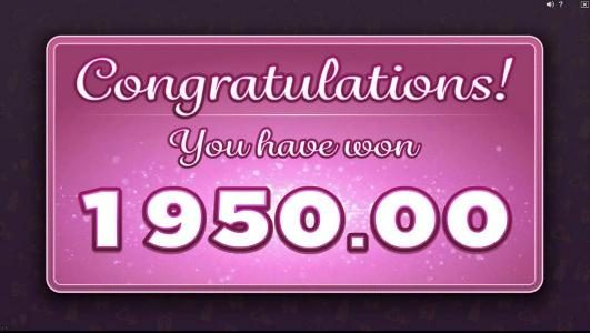 The Friendship Free Spins awards a $1,950.00 payout