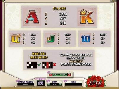 Go Wild featuring the Video Slots Bridezilla with a maximum payout of $24,000