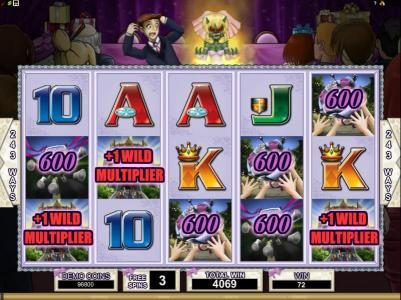 Nostalgia Casino featuring the Video Slots Bridezilla with a maximum payout of $24,000