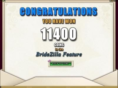 Phoenician featuring the Video Slots Bridezilla with a maximum payout of $24,000