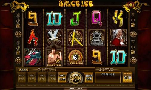 Play slots at Level Up: Level Up featuring the Video Slots Bruce Lee with a maximum payout of $2,500