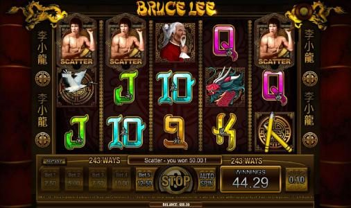scatter symbols truggers free spins feature