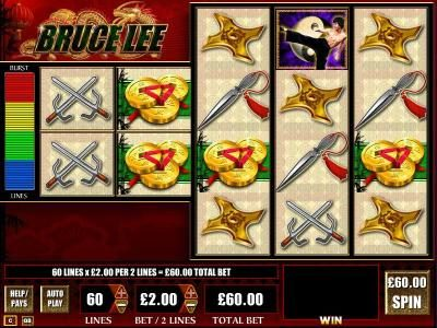 Play slots at Lucky Me Slots: Lucky Me Slots featuring the Video Slots Bruce Lee with a maximum payout of $250,000