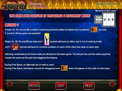 Shadowbet featuring the Video Slots Bruce Lee with a maximum payout of $800