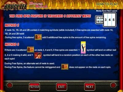 Clover Casino featuring the Video Slots Bruce Lee with a maximum payout of $800