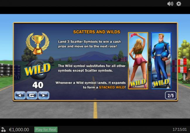 Club 777 featuring the Video Slots Buckle Up with a maximum payout of $78,000