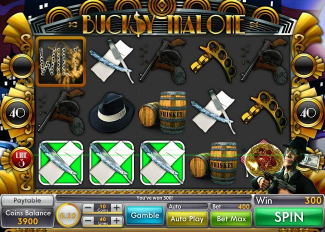 Buck$y Malone :: A winning Three of a Kind.