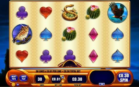 Play slots at Queen Vegas: Queen Vegas featuring the Video Slots Buffalo Spirit with a maximum payout of $250,000