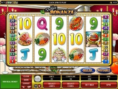 Quatro featuring the Video Slots Buffet Bonanza with a maximum payout of $24,000