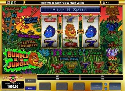 Play slots at Fortune Junction: Fortune Junction featuring the Video Slots Bundle in the Jungle with a maximum payout of $5,000