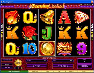 Play slots at Wild Tornado: Wild Tornado featuring the Video Slots Burning Desire with a maximum payout of $900,000