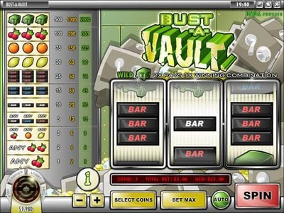 CoCoa featuring the Video Slots Bust-A-Vault with a maximum payout of $60.000