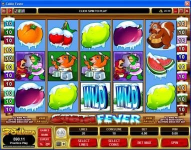 Play slots at 777Dragon: 777Dragon featuring the Video Slots Cabin Fever with a maximum payout of $25,000