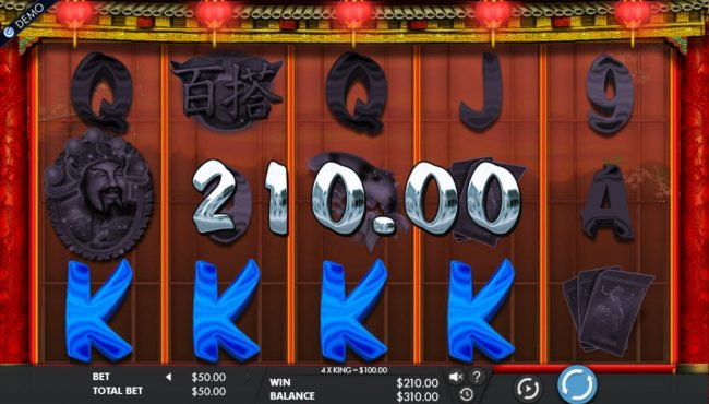 Jetbull featuring the Video Slots Cai Shen's Fortune with a maximum payout of $50,000