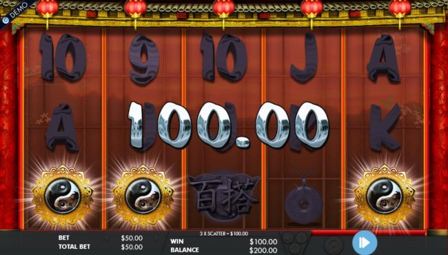 Cai Shen's Fortune :: Scatters symbols triggers the free spins bonus feature.