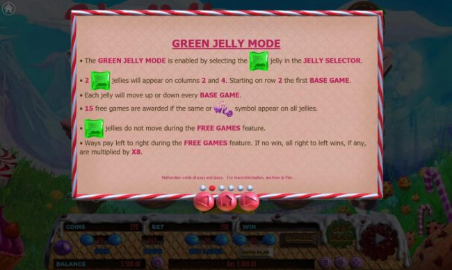 Cake Valley :: Green Jelly Mode Rules