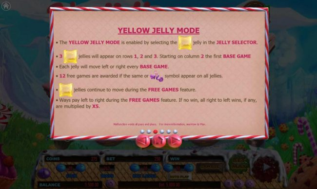 Cake Valley :: Yellow Jelly Mode Rules
