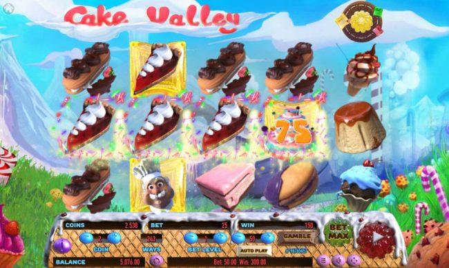 Cake Valley :: Multiple winning paylines