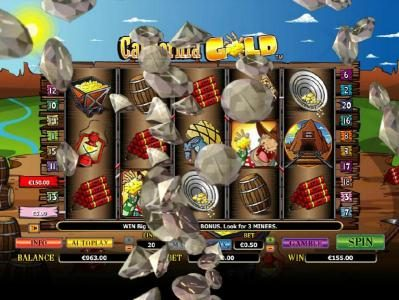 Slotty Vegas featuring the Video Slots California Gold with a maximum payout of $10,000