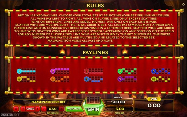 Crypto Wild featuring the Video Slots Caligula with a maximum payout of $7,5000