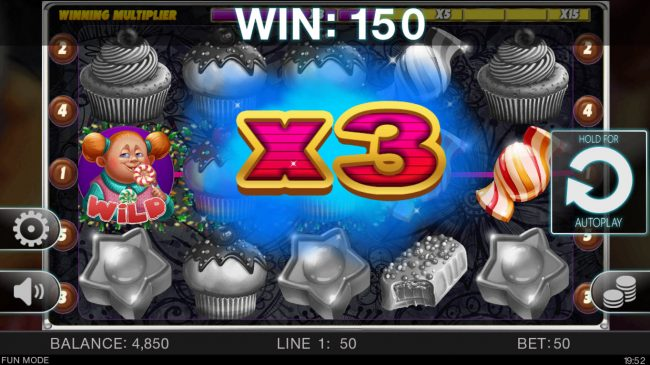 Candy Slot Twins :: An x3 win multiplier awarded