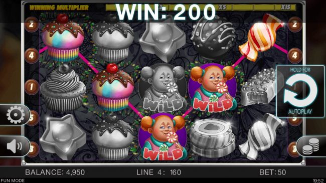 Candy Slot Twins :: A winning four of a kind