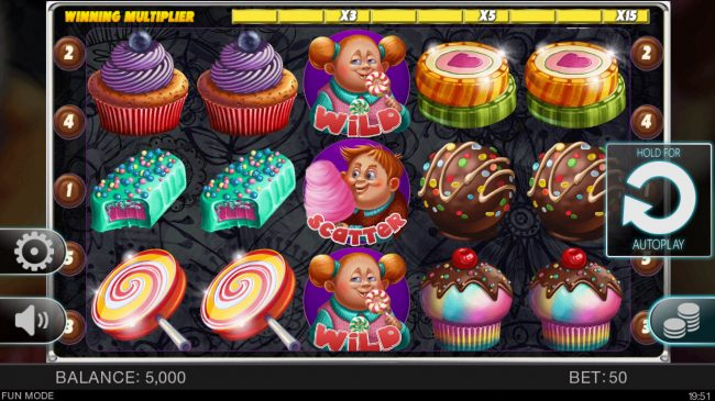 Candy Slot Twins :: Main Game Board