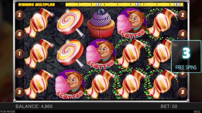 Candy Slot Twins :: Multiple winning paylines
