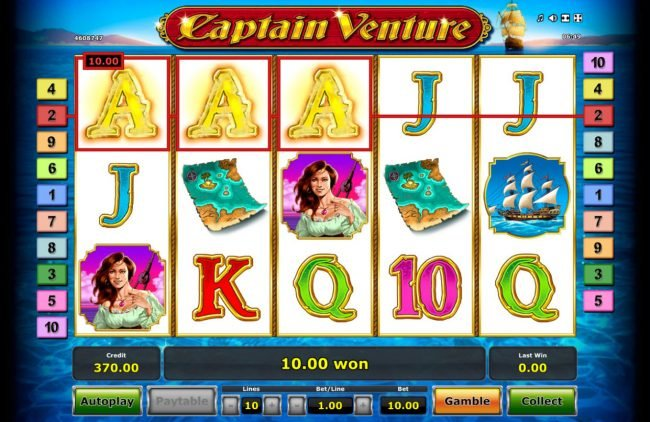 Captain Venture :: A winning three of a kind