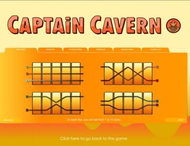 Long Harbour featuring the Video Slots Captain Cavern with a maximum payout of $1,250