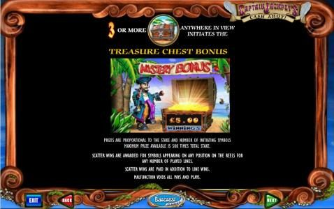 Play slots at Wicked Jackpots: Wicked Jackpots featuring the Video Slots Captain Jackpot's Cash Ahoy with a maximum payout of $12,500