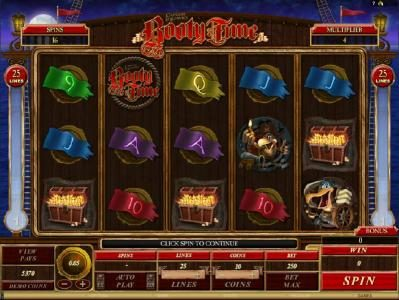 Play slots at Casino Splendido: Casino Splendido featuring the Video Slots Captain Squawks Booty Time with a maximum payout of $5,000