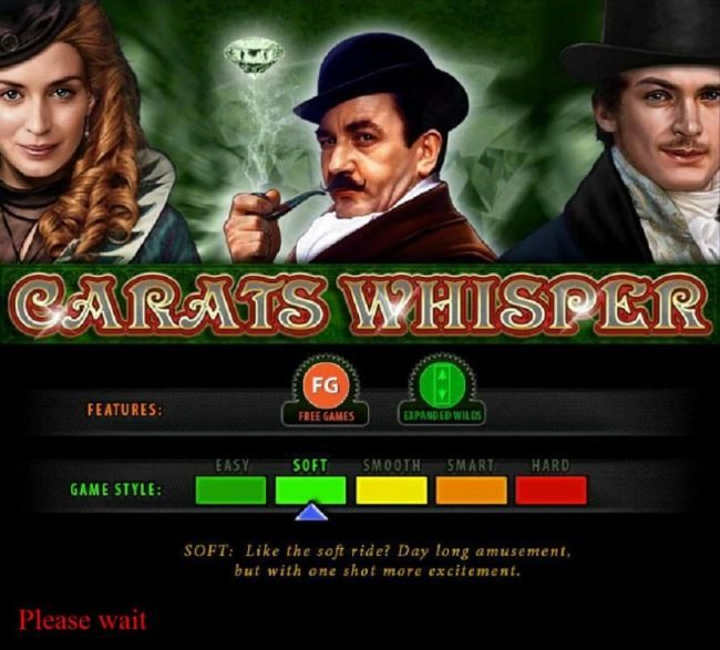 Play slots at Powerspins: Powerspins featuring the Video Slots Carats Whisper with a maximum payout of $80,000