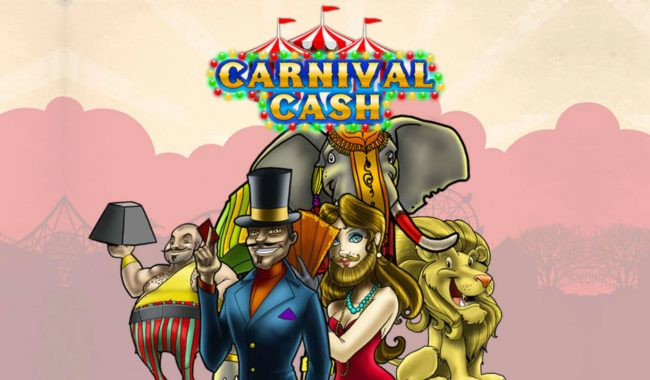 Play 24 Bet featuring the Video Slots Carnival Cash with a maximum payout of $62,500