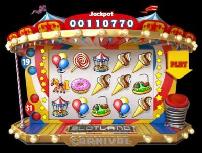 Play slots at Slotland: Slotland featuring the Video Slots Carnival with a maximum payout of $1,000
