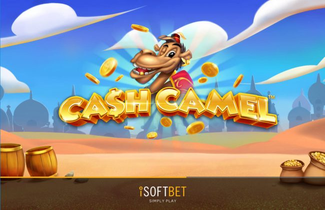 Play slots at Yoyo: Yoyo featuring the Video Slots Cash Camel with a maximum payout of $10,000