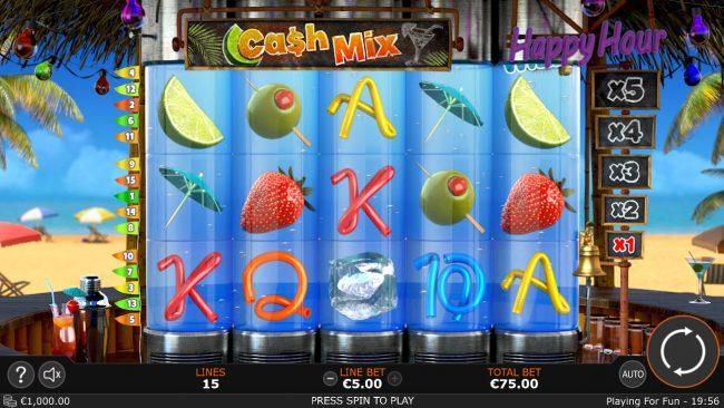 Cash Mix :: Main Game Board