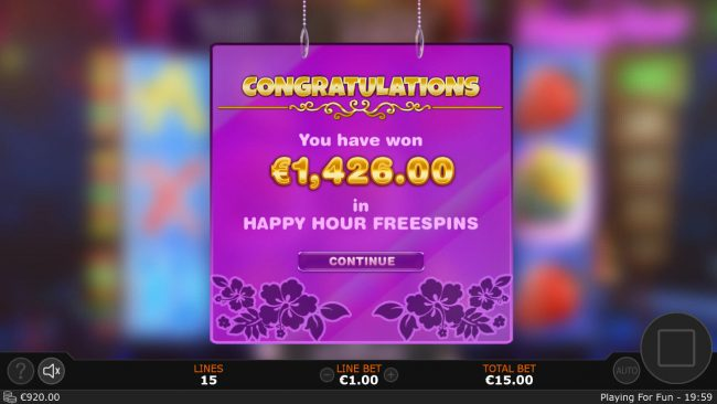 Cash Mix :: Total Free Spins Payout