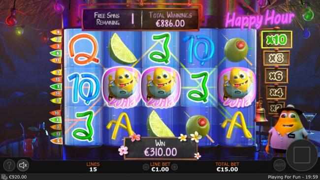Cash Mix :: Multiple winning paylines